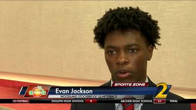 Woodland Stockbridge's Evan Jackson: Georgia Lottery Scholar Athlete