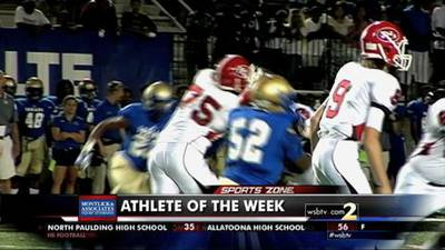 Mitch Hyatt-Montlick & Associates Athlete of the Week