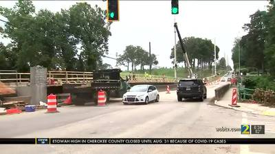 Northside Drive to close for 90 days as crews work to replace 94-year-old bridge