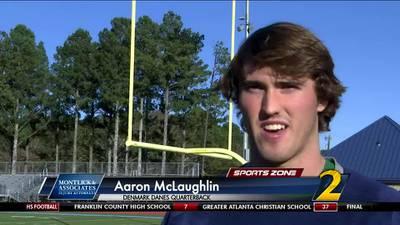 Denmark's Aaron McLaughlin: Montlick & Associates Athlete of the Week