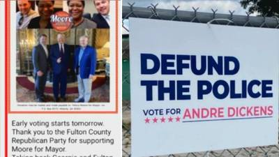 Mayoral candidates say they're targets of dirty politics as early voting gets underway