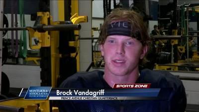 Prince Ave. Christian's Brock Vandagriff: Montlick & Associates Athlete of the Week