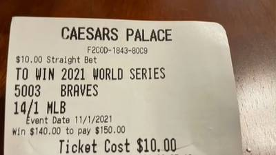 Metro woman hoping to cash in on Braves bet she made in Vegas months ago