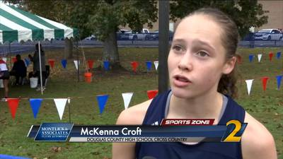 Douglas County's McKenna Croft: Montlick & Associates Athlete of the Week