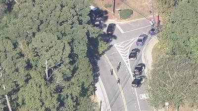 Murder suspect shoots himself following police chase; neighborhood shutdown