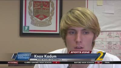 Rome's Knox Kadum: Montlick & Associates Athlete of the Week
