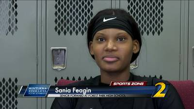 Forest Park's Sania Feagin: Montlick & Associates Athlete of the Week