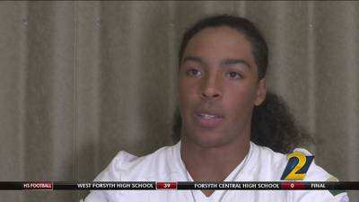 Blessed Trinity's Steele Chambers: Montlick & Associates Athlete of the Week