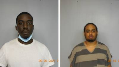2 men arrested for trying to steal $12K from Hall County senior couple in phone scam