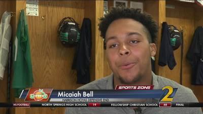 Harrison's Micaiah Bell: Georgia Lottery Scholar Athlete