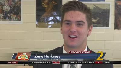 Buford's Zane Harkness: Georgia Lottery Scholar Athlete