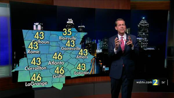Cool temps, clear skies expected Wednesday morning