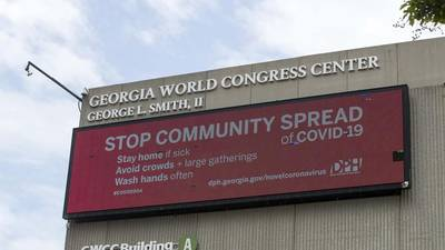 Georgia World Congress Center reopens today for COVID-19 patients