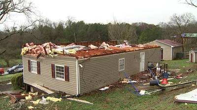 8 Gordon County homes left with significant damage from likely tornado