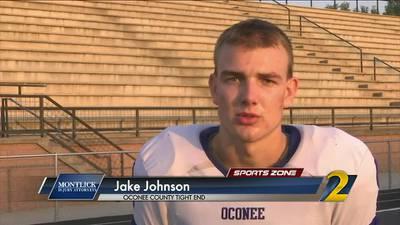 Oconee County's Jake Johnson: Montlick Injury Attorneys Athlete of the Week