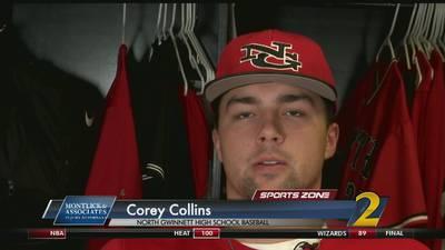 North Gwinnett's Corey Collins: Montlick & Associates Athlete of the Week