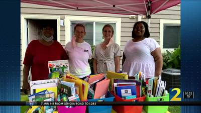 Group of Atlanta moms come together to support families in need of school supplies