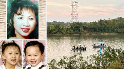 Divers find SUV of missing Ohio mom, 2 children on river bottom after nearly 20 years