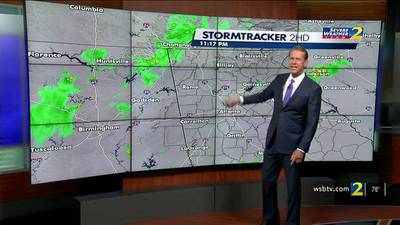 A look at the weather as we approach the holiday