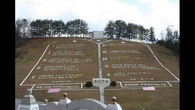 PHOTOS: See world's largest Ten Commandments