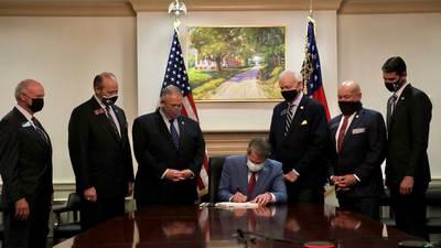 DOJ sues state of Georgia over voting rights law