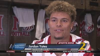 Milton's Jordan Yates: Montlick & Associates Athlete of the Week