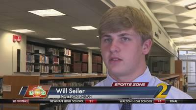 Lovett's Will Seiler: Georgia Lottery Scholar Athlete