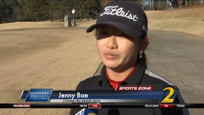 Collins Hill's Jenny Bae: Montlick & Associates Athlete of the Week
