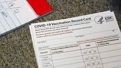 As travel picks back up, make sure you have your vaccine card handy