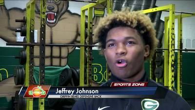 Griffin's Jeffrey Johnson: Georgia Lottery Scholar Athlete