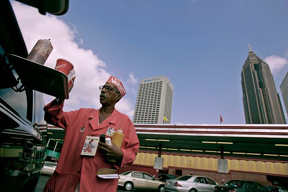 The Varsity car hop hangs it up after serving Atlanta food for 63 years
