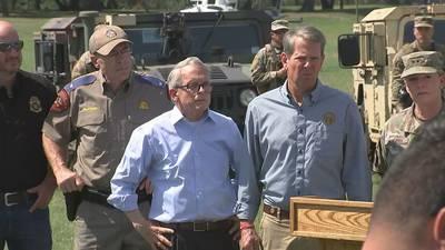 Gov. Kemp tours humanitarian crisis unfolding at US-Mexico border