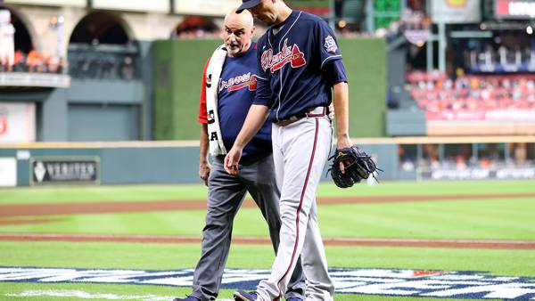 Next man up: With Charlie Morton out, the Braves turn to a rookie pitcher