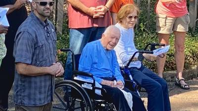 Former President Jimmy Carter celebrates 97th birthday