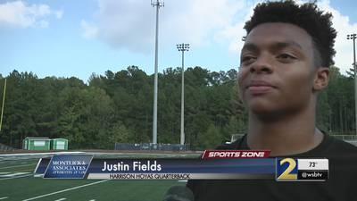 Harrison's Justin Fields: Montlick & Associates Athlete of the Week