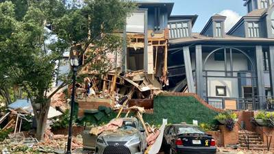 Attorneys stopped the demolition of an apartment where explosion took place