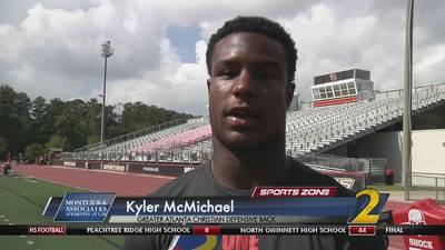 GAC's Kyler McMichael: Montlick & Associates Athlete of the Week