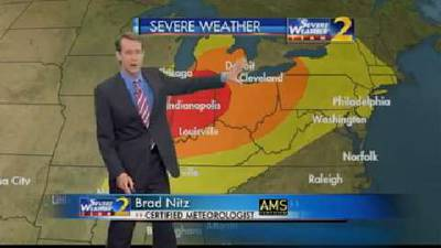 Isolated severe storms, showers possible in Ga. overnight