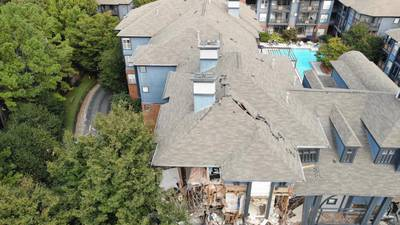 Woman returns home to find her Dunwoody apartment in ruins after explosion