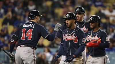 Braves bounce back in Game 4, now just 1 win away from World Series