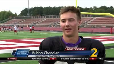North Oconee's Bubba Chandler: Montlick & Associates Athlete of the Week
