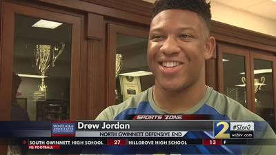 North Gwinnett's Drew Jordan: Montlick & Associates Athlete of the Week