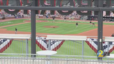 Omni Hotel offers only view for Braves fans to catch game in person