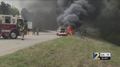 Man's car burst into flames just minutes after oil change at Jiffy Lube