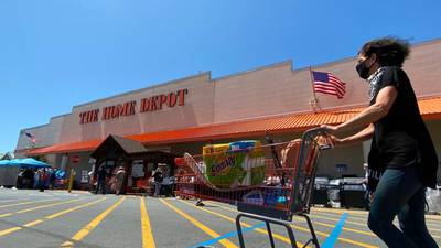 Home Depot quarterly sales up 23% as more people focus on home projects