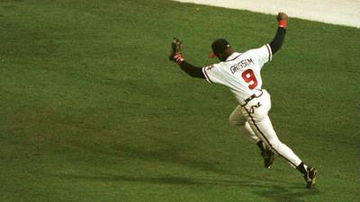 Atlanta native Marquis Grissom remembers catching the final out of the '95 World Series