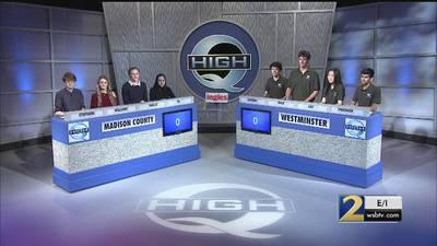Madison County vs Westminster Season 34 High Q 20-13