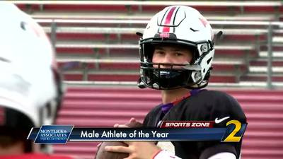 North Oconee's Bubba Chandler: Montlick & Associates 2021 Male Athlete of the Year