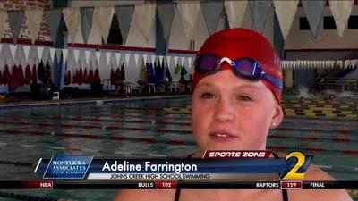 Johns Creek's Adeline Farrington: Montlick & Associates Athlete of the Week