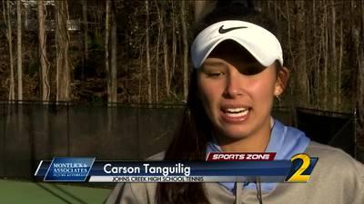 Johns Creek's Carson Tanguilig: Montlick & Associates Athlete of the Week